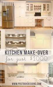 How I Remodeled My Kitchen for $1000 in 10 Steps, PART 1
