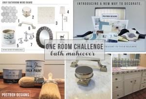 One Room Challenge: Bathroom Makeover Week #3
