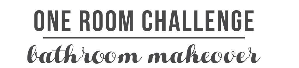 One Room Challenge Bath Makeover Week 2 Mood Board