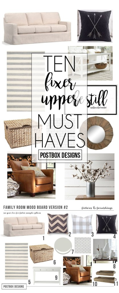 Rustic Farmhouse Living Room Design By Postbox Designs E