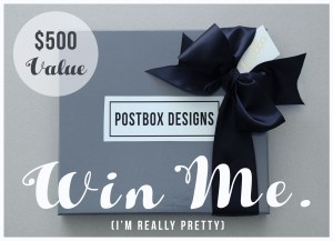 Win a FREE Postbox Giveaway ($500 Value) Ends Next Week!