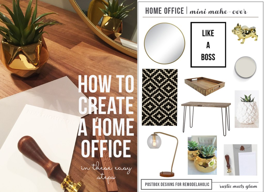 Create the Perfect Home Office by Postbox Designs