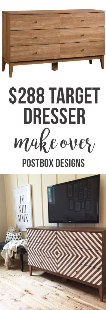 One Room Challenge: Target Dresser Budget Farmhouse Makeover