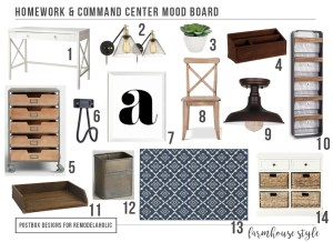 Get Back-to-School Ready with a Farmhouse Style Homework+Command Center!