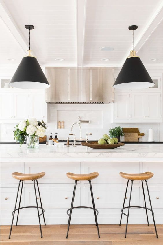 Postbox Designs E-Design: Budget Barstool RoundUp: All Under $150 + How to Choose the Perfect Barstool for your Kitchen Design, for Remodelaholic, online interior design