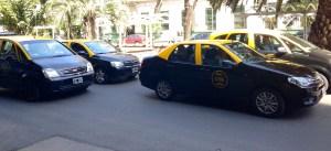 Taxis in Bs As