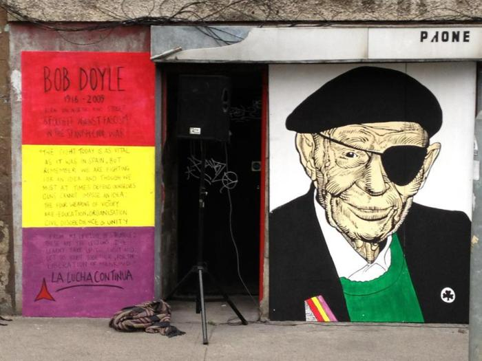 Bob Doyle mural on Dublin's North King Street