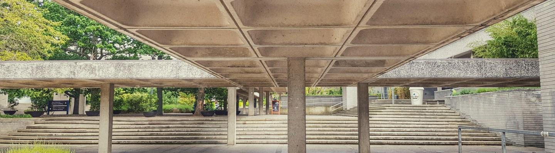 Wejchert's covered walkway