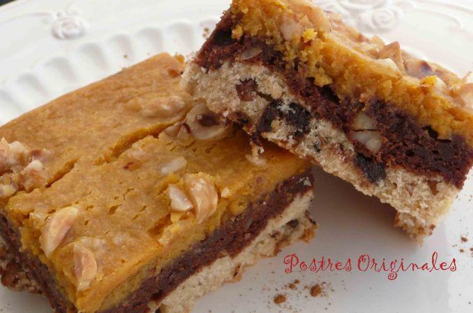 Triple pecado (Cookie + Brownie + Calabaza)