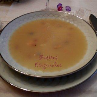Sopa al Cuarto de Hora