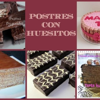 Postres con Huesitos