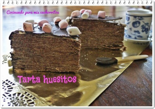 Postres con Huesitos - Tarta de Huesitos