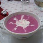 Crema de Lombarda con Manzana