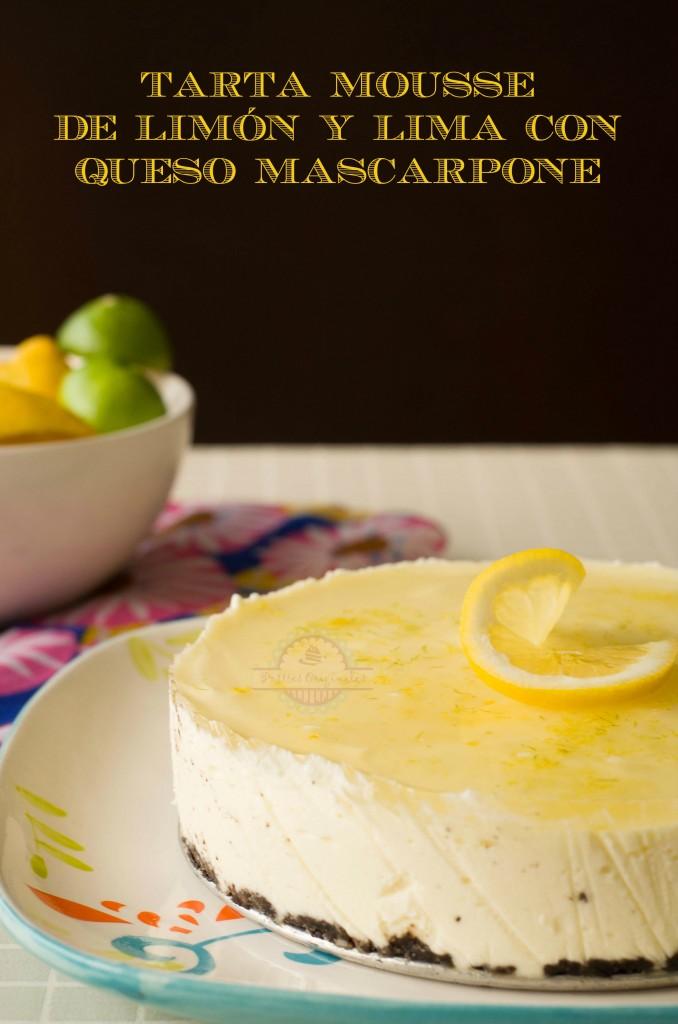 Tarta Mousse de Limón y Lima 19