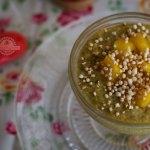 Quinoa con Leche, Canela y Cúrcuma