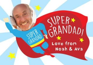 Happy father's day - grandad personalised card