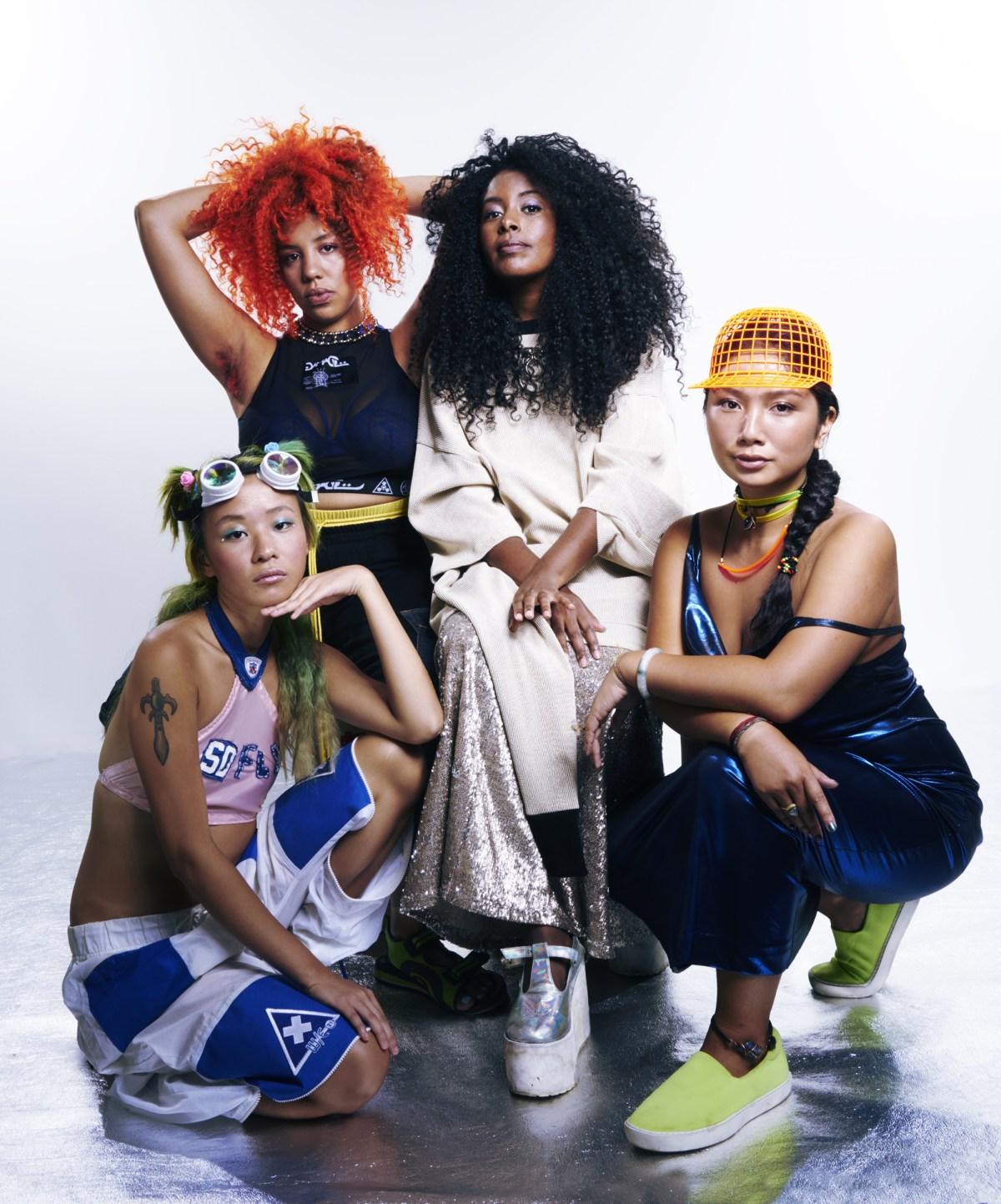 Sonia Choi, Jazmin Jones, Tsige Tafesse, Katherine Tom | Photo by AnRong Xu