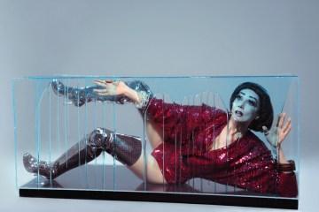Photo by Mike Ruiz | Bodysuit: Cheng | Bracelets: I Still Love You NYC | Boots: Vivienne Westwood