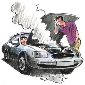 ремонт машины в мастерской