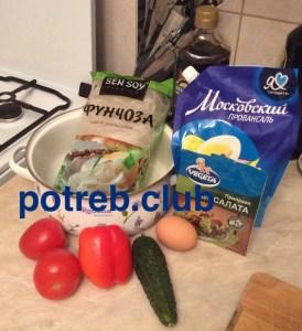 Как приготовить фунчозу: рецепт с фото