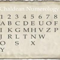 Chaldean-Hebrew Kabbalah Numerology