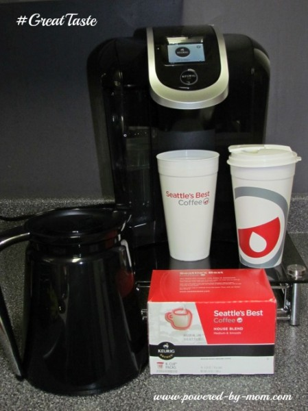 Keurig 2.0 and Seattle's Best