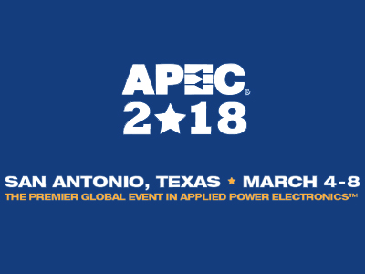 APEC 2018 – IEEE Applied Power Electronics Conference and Exposition