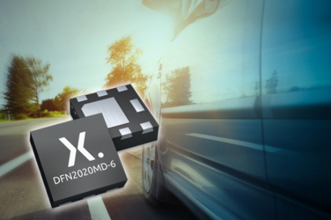 New 175°C AEC-Q101 MOSFETs in miniature leadless packages from Nexperia enable automated inspection