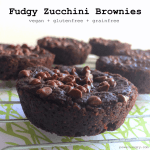 fudgy zucchini brownie pucks 1