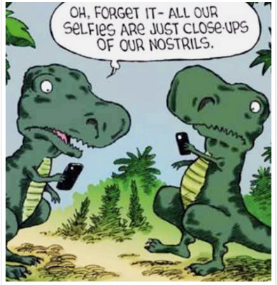 Dinosaur Selfies copy