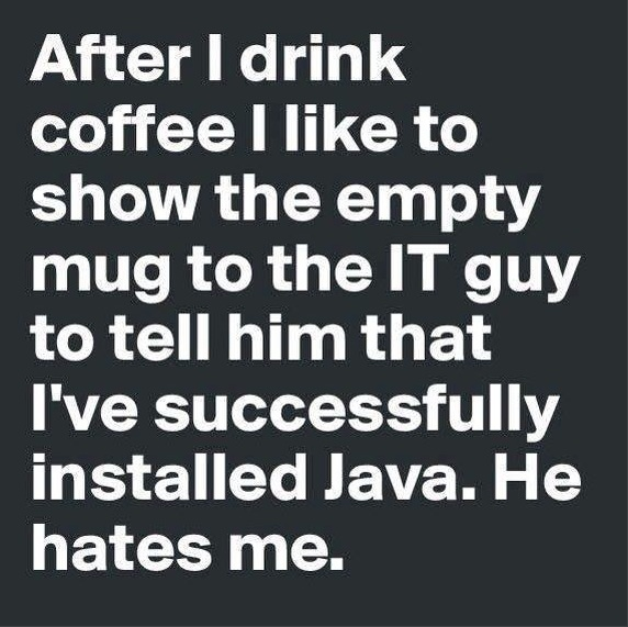 Java Installed copy