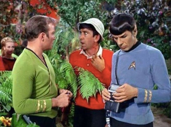 Gilligan Star Trek copy
