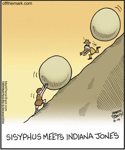 Sisyphus Indiana Jones copy