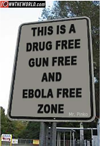 The standard liberal method for fighting Ebola.