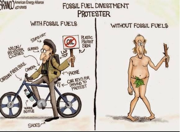 Fossil Fuels Protester copy