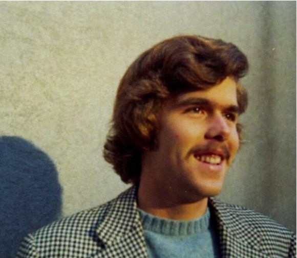 Jeb Bush in his Ron Burgundy phase.