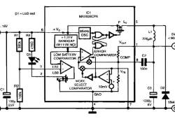 Switch Mode Voltage Regulator with 85% efficiency