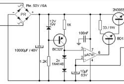 Variable 4 A/25V Power Supply