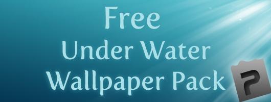 Free Under Water Wallpaper