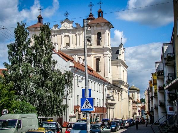 Wilno - Kościół św. Ducha