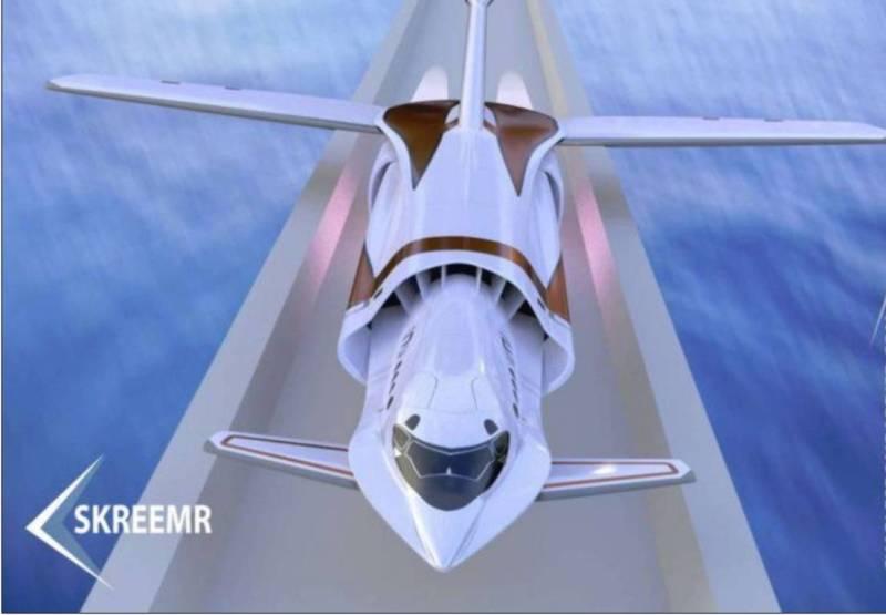 Самолёт Screemr.