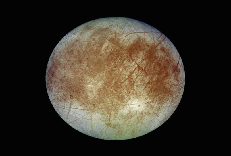 Европа - спутник планеты Юпитер.