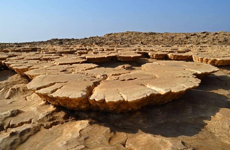 Пустыня Данакиль в Эфиопии