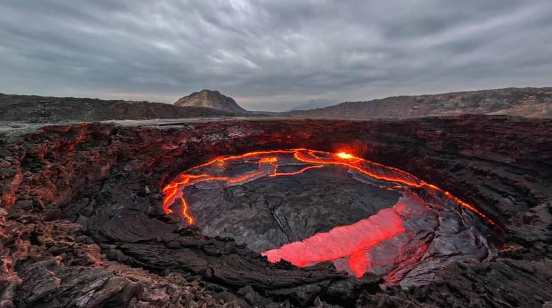 фото озеро Эрта Але Эфиопия