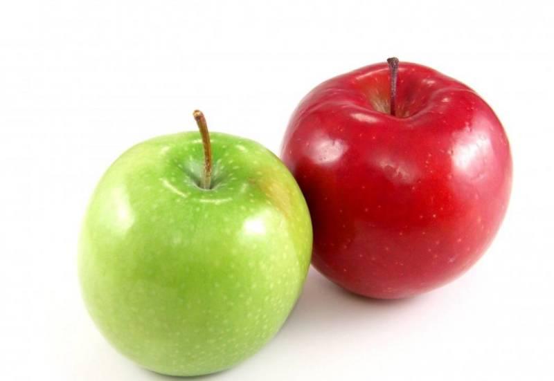 Яблоки и никотин