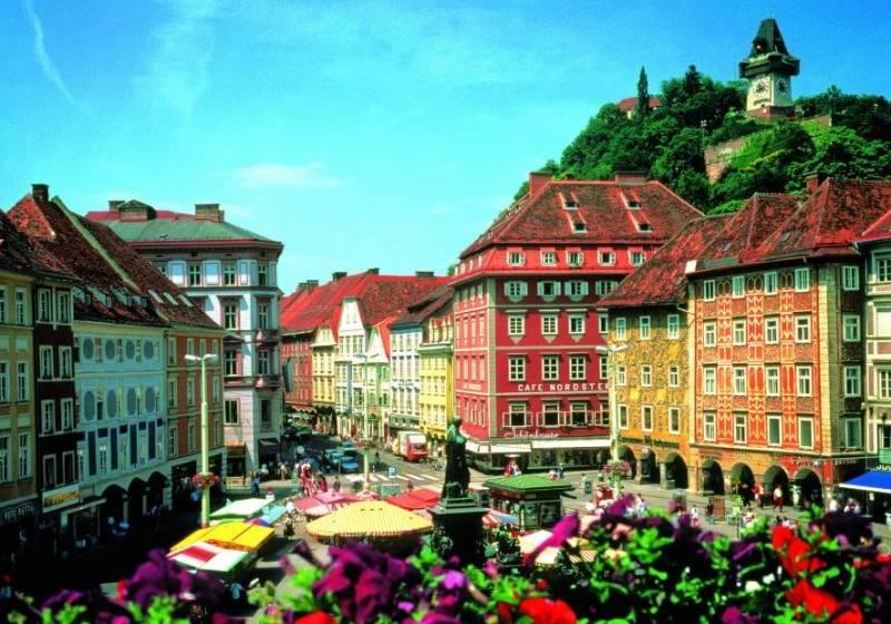 Достопримечательности Грац Австрия