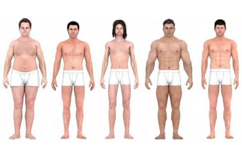Эволюция мужская красота