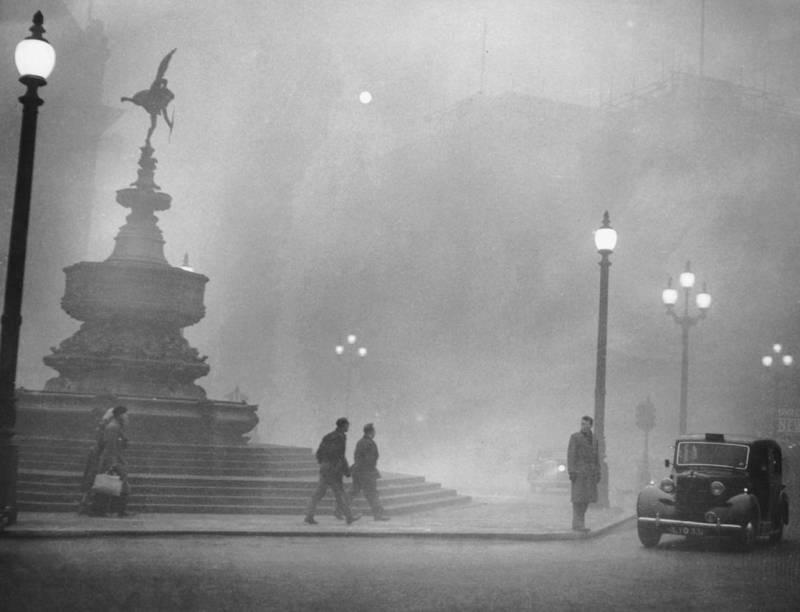 лондонский смог 1952 трагедия