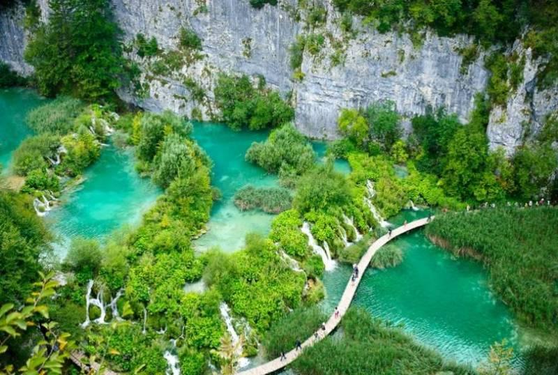 Голубые озёра Плитвиц