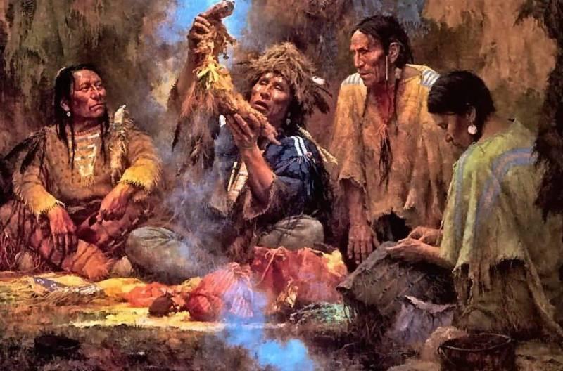 Табак индейцы медицина